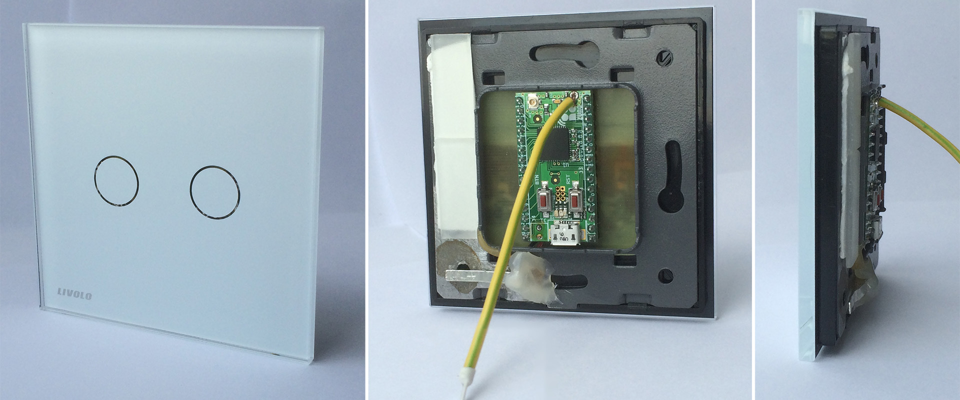 sensor wall switch based on livolo glass
